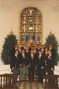 Members of the 1991 Charleston Men's Chorus